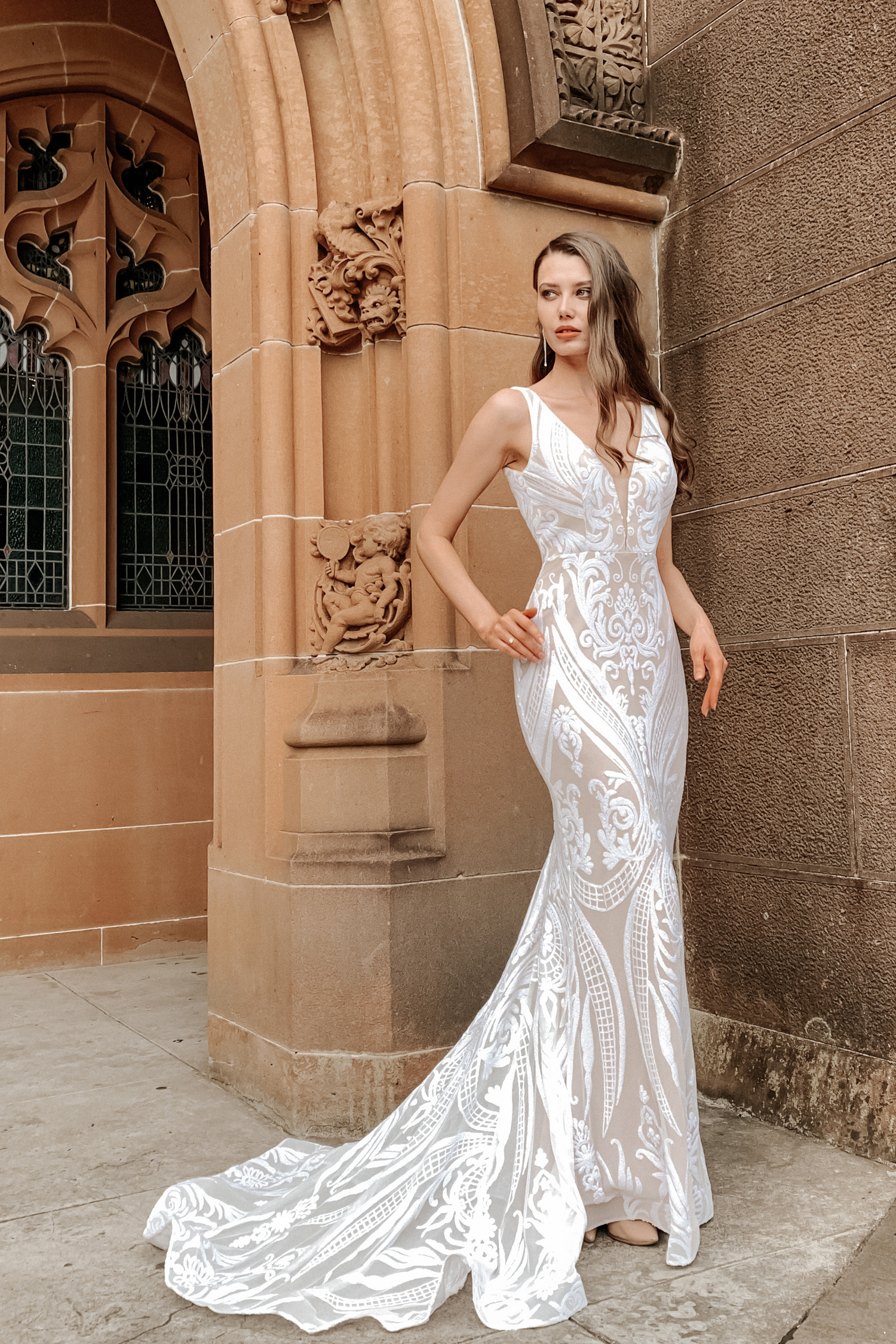 Slimline Wedding Dresses