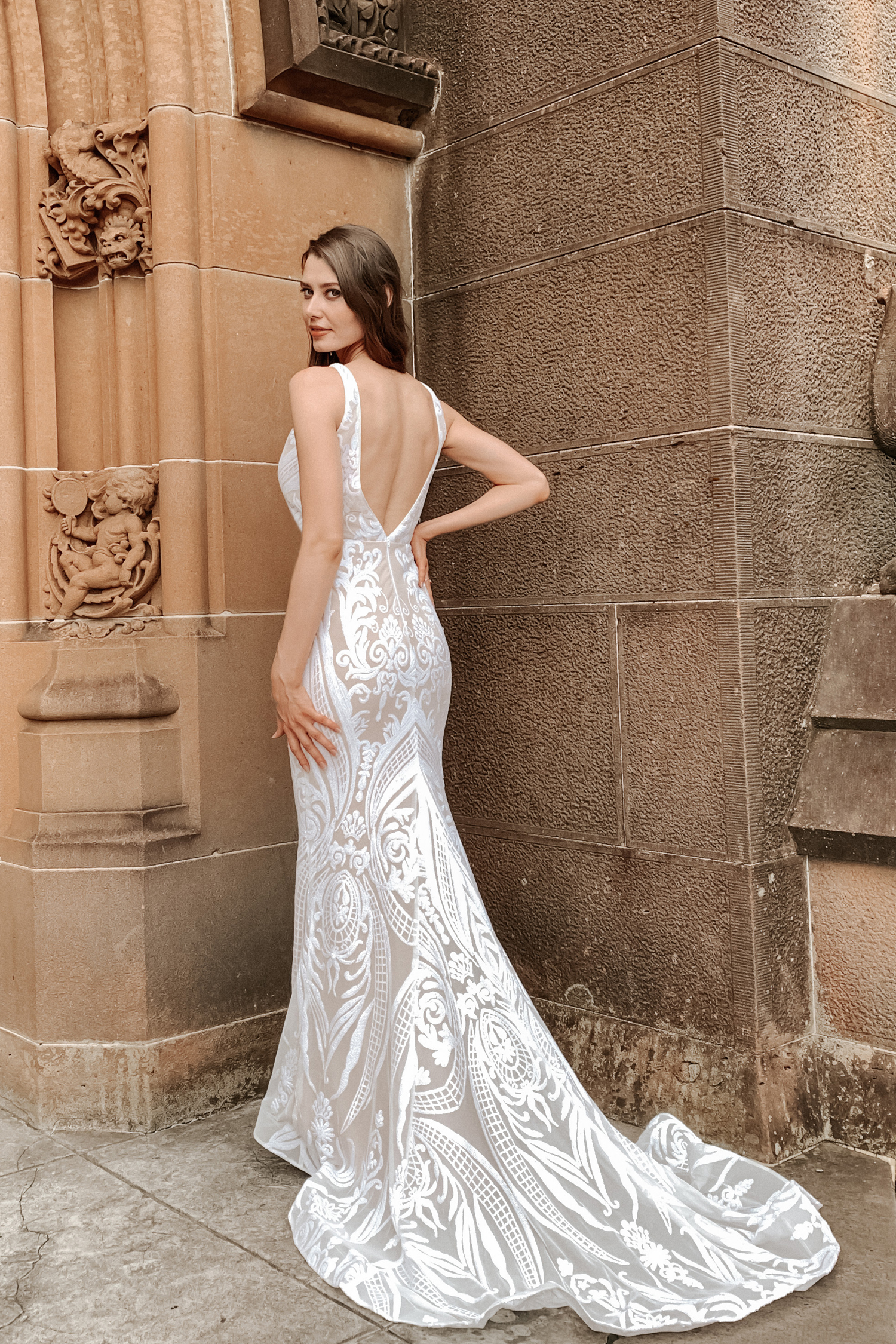 Slimline Wedding gown