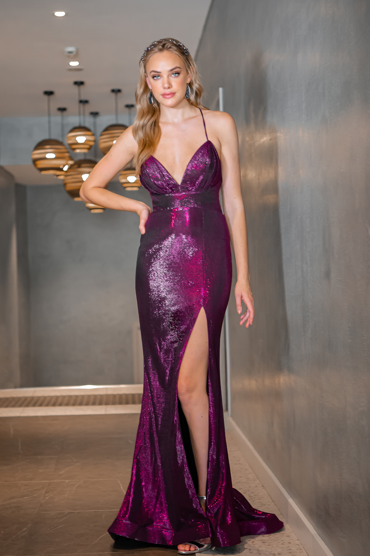 Maxi-length Formal Dress
